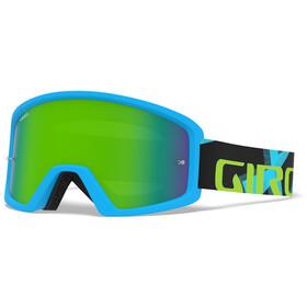 Giro Blok MTB Goggles iceberg/reveal camo, loden/clear